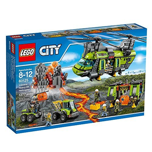 LEGO City Volcano Heavy-lift Helicopter 60125