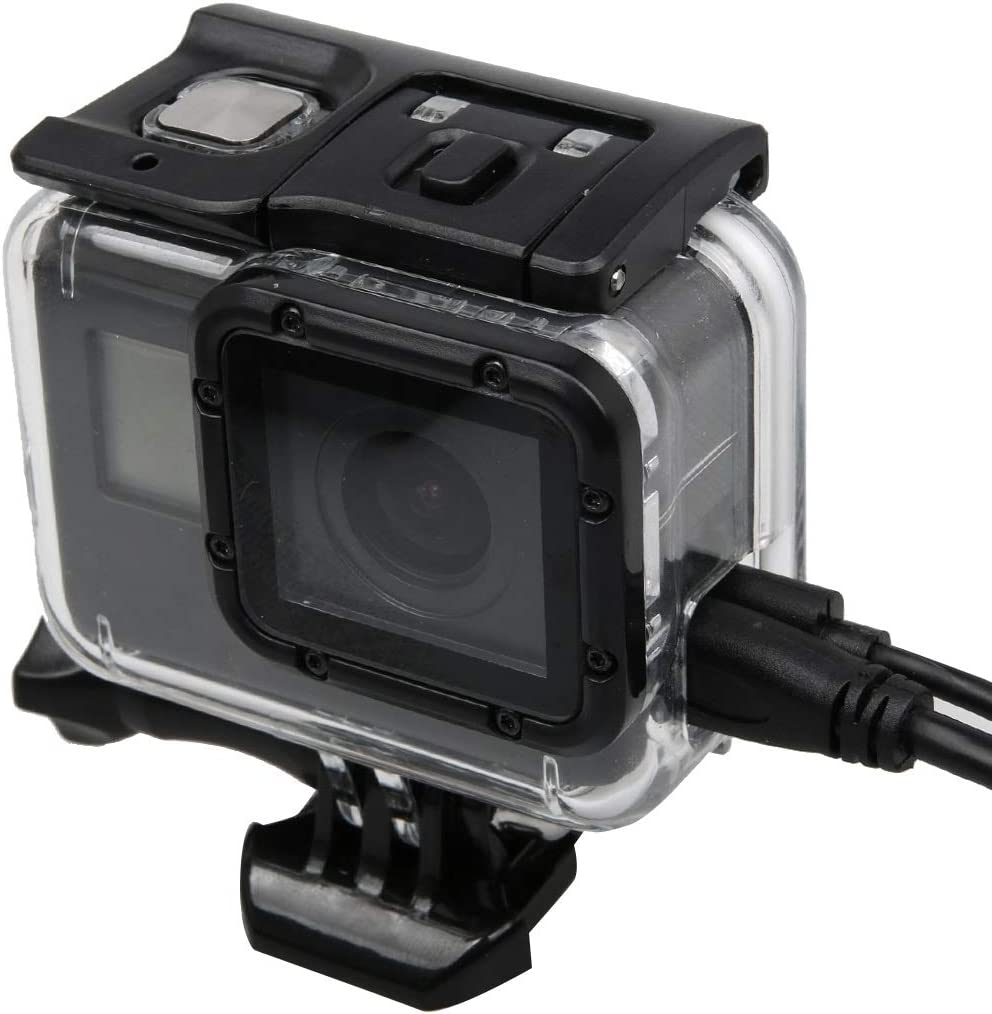 YANTAIANJANE Camera Accessories for GoPro HERO5 Skeleton Housing Protective Case Cover with Buckle Basic Mount /& Lead Screw