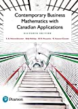 Contemporary Business Mathematics with Canadian Applications,