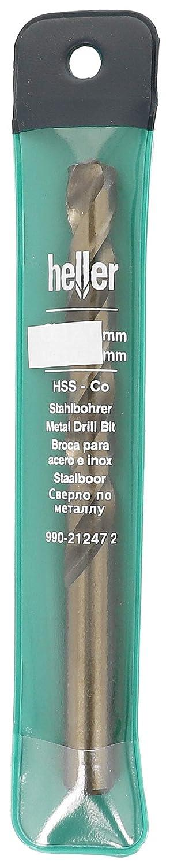 4 mm Gold Heller Tools 212298 990 Stainless Steel//Cobalt//Hss Drill Bit
