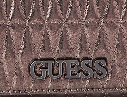 Guess BRINKLEY CNVRTBLE XBODY FLAP, Sacoches Femme, Pewter, Taille unique