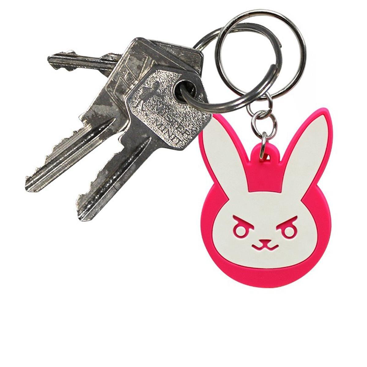 Llavero Overwatch - D.VA Bunny Logo: Amazon.es: Hogar