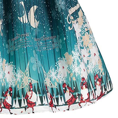 Vestiti Vintage Manica Ze Lunga Forti Beautyjourney Abiti Sera Donna Vestito Cerimonia Claus Pizzo Abito Invernali Natale Elegante Santa Taglie bg7Y6fIyv