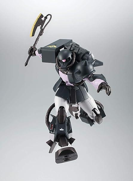 BANDAI ROBOT SPIRIT SIDE MS MS-06R-1A ZAKU II VER A.N.I.M.E BLACK TRI-STARS P