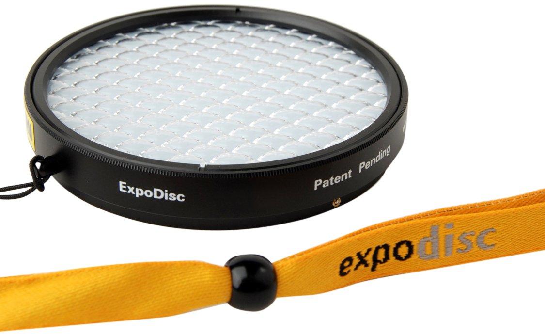 Expoimaging 62mm ExpoDisc Professional Portrait White Balance Digital Portraiture Lens Filter - Portrait Photography Filters