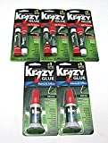 Krazy Glue Bundle - 6pc All Purpose Precision Tip, 2pc Home & Office Brush