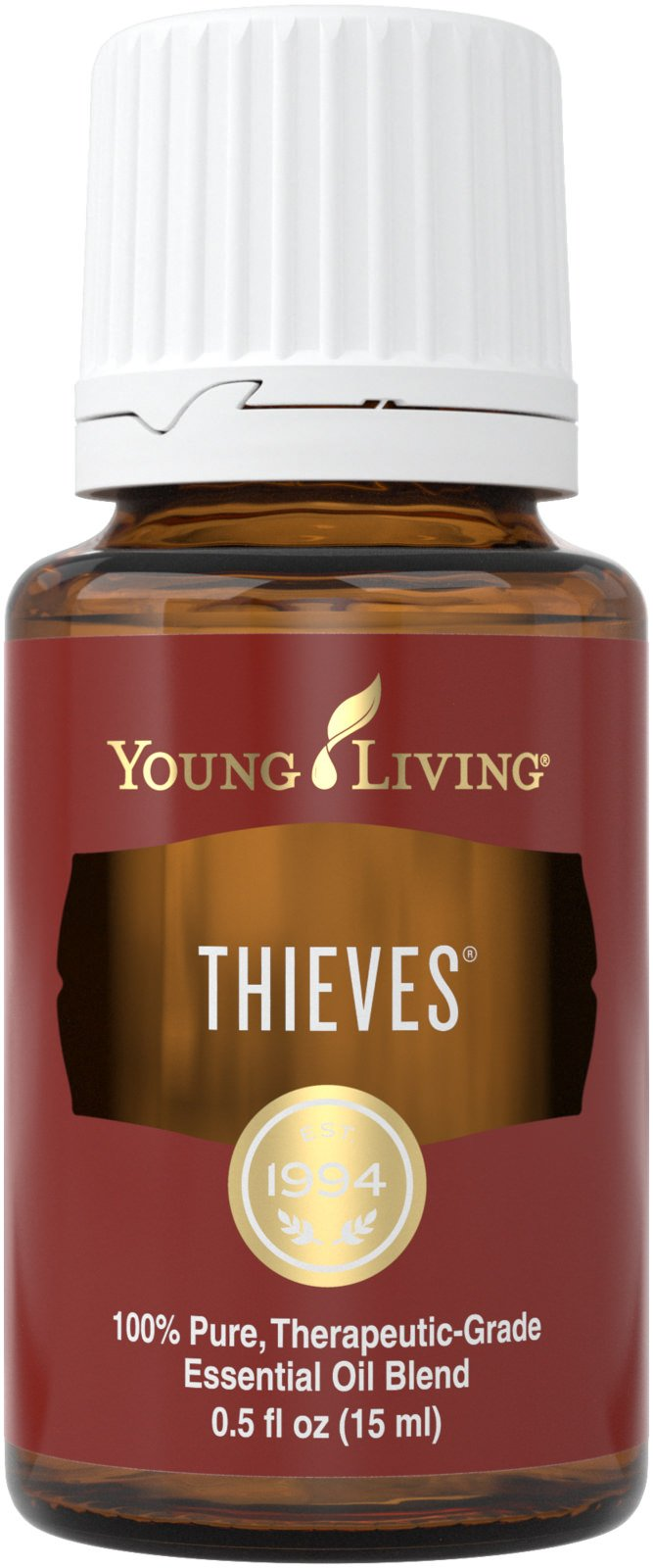 Thieves Essential Oil Blend by Young Living, 15 Milliliters, Topical and Aromatic
