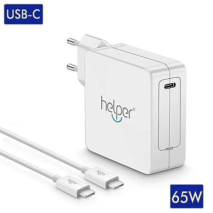 65 W USB Type C Notebook AC Adaptador Cargador portátil para ASUS, Lenovo, Acer
