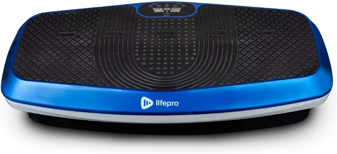 LifePro Hovert 3D Vibration Plate Machine - Dual Motor Oscillation, Lateral + 3D Motion Viberation Platform Machine - Full Whole Body Vibrarating Machine for Home Exercise & Fitness