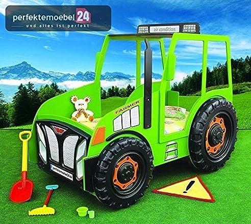 Kinderbett junge traktor  PM_TRK07 TRAKTOR Bett Autobett Kinderbett Spielbett inkl ...