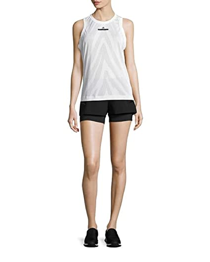 7e1c08ea3f7 adidas Stella McCartney Womens Mesh Sleeveless Tank Top at Amazon ...