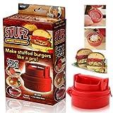 Stufz Stuffed Burger Press Grill BBQ Patty Maker...
