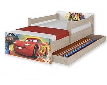 nuevos modelos x camas infantiles disney cars mcqueen con cajon y barandillas