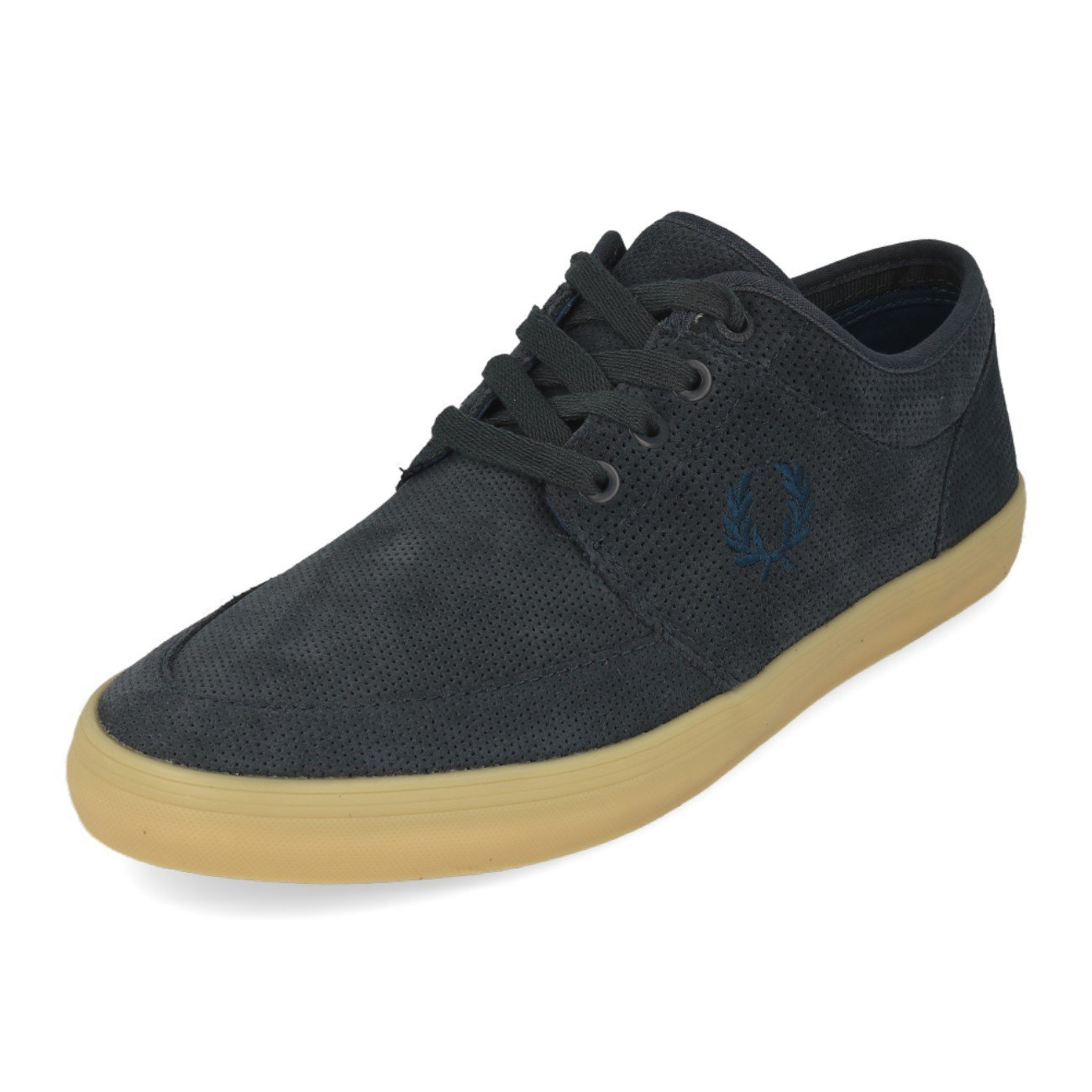 Frot Perry Stratford Perf Suede Graphite