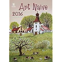 Art Naive Wall Calendar 2016 - Art Calendar - Poster Calendar - Folk Art Calendar By Helma
