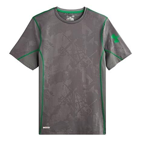 32931d98ba935 Under Armour Heatgear Sonic Fitted Printed SS T Shirt - Men's