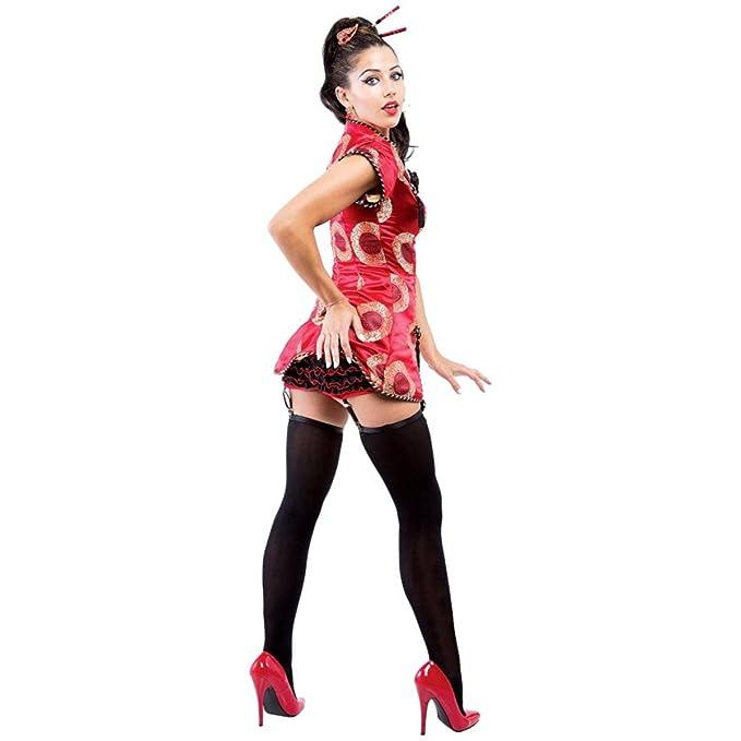 8ad332182 Amazon.com: Paper Magic Womens Shanghai Lily Halloween Party Geisha ...