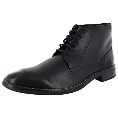 Cole Haan Mens Canton Lace Boot II Shoe, Black, US 7