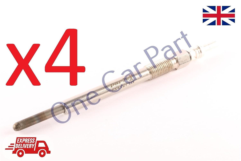4 X BERLINGO C1 C5 JUMPY NEMO XSARA 1.4 1.6 HDI GLOW PLUG PARLEX