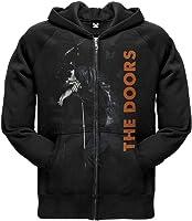 The Doors - Mens Mic Stand Zip Hoodie OG Exclusive