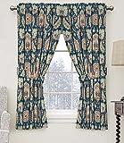 waverly storage - Waverly 15390052063GEM Clifton Hall 52-Inch by 63-Inch Floral Single Window Curtain Panel, Gem