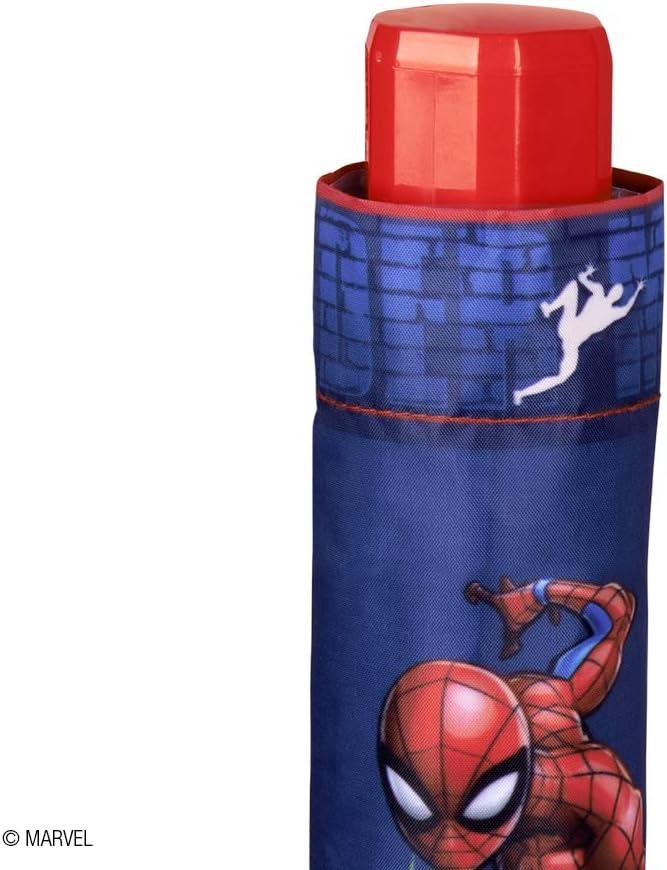Paraguas Plegable Niño Marvel Spiderman - Paraguas Infantil ...