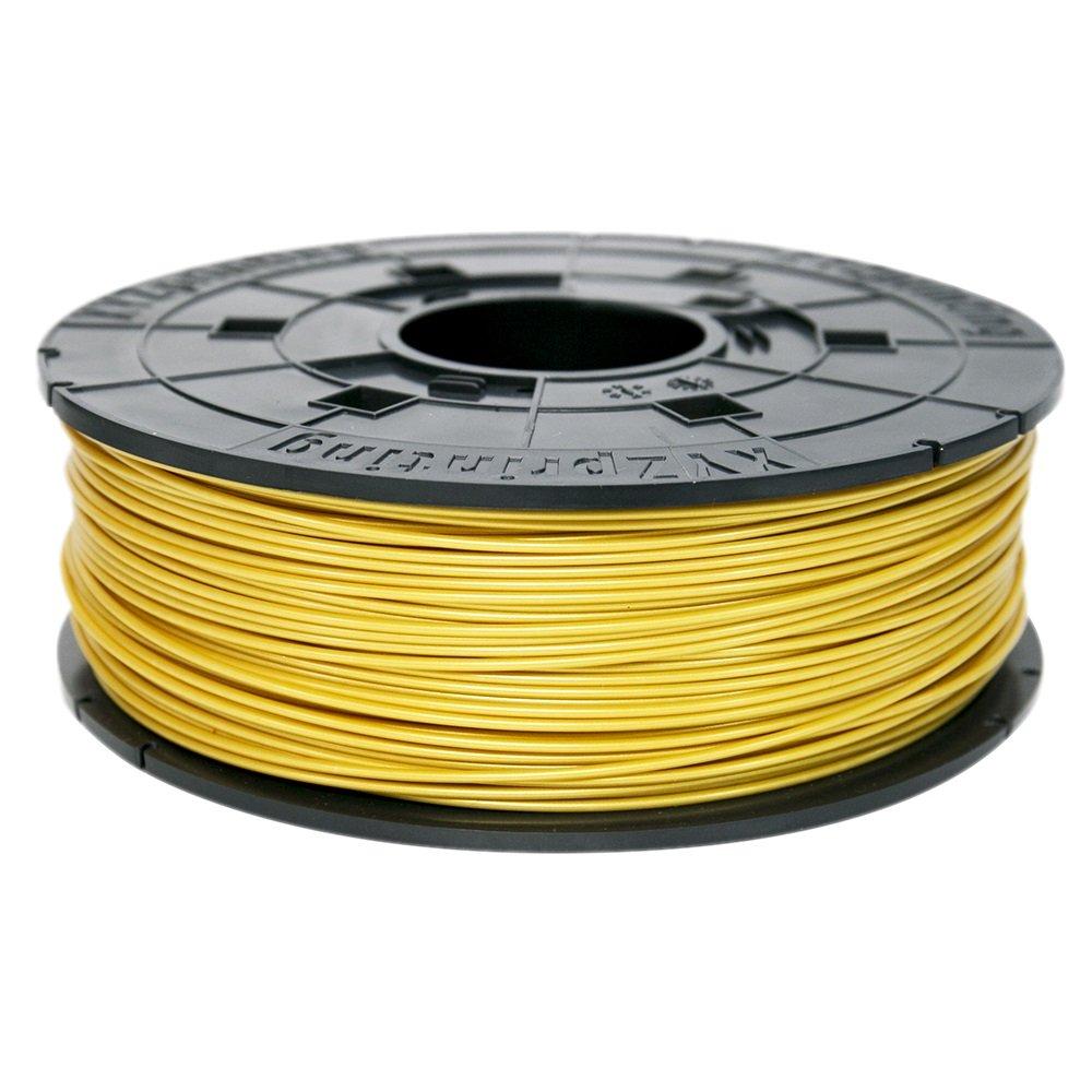 XYZprinting RF10XXEU0JF Filamento ABS, 600 g, Dorado