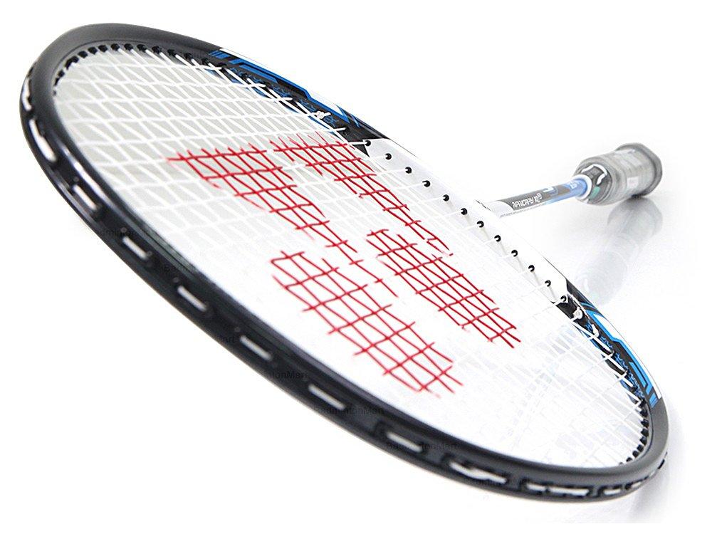 Yonex NANORAY 10F NEW Badminton Racket 2017 Racquet Blue 4U/G5 Pre-strung with a Half-length Cover (NR10F-BLUE) by Yonex (Image #1)