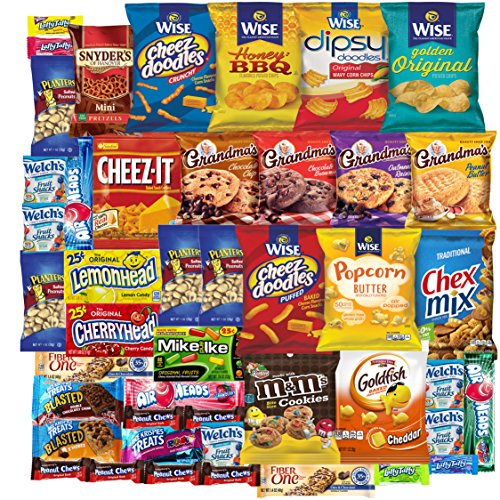 cookies-chips-candies-care-package-variety-pack-bundle-assortment-bulk-sampler-45-count
