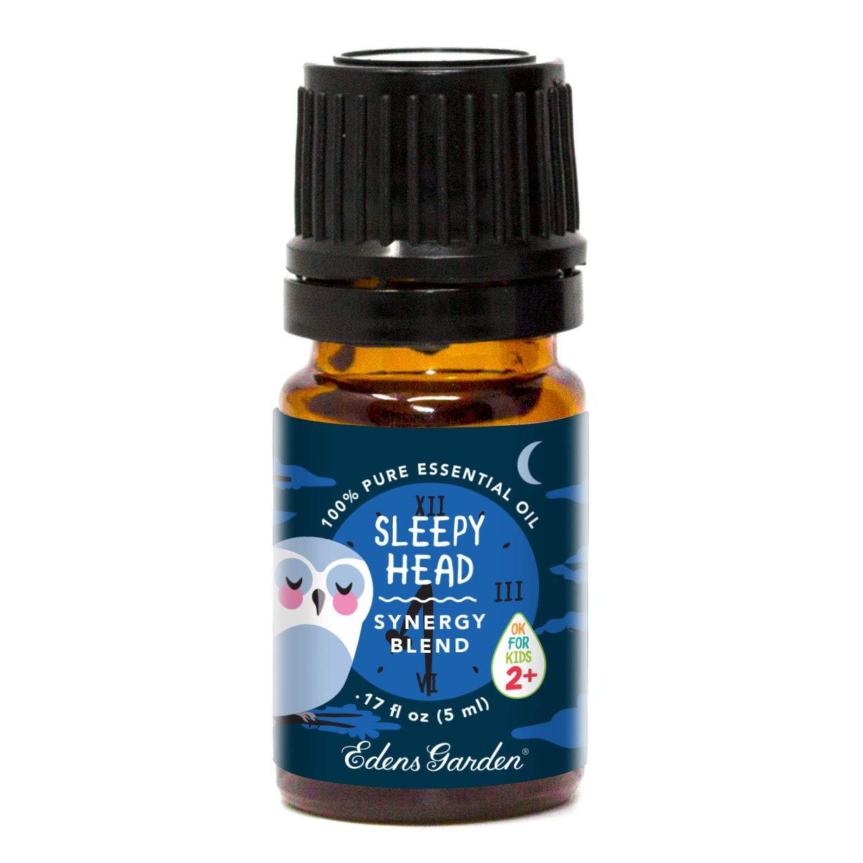 "Edens Garden Sleepy Head""OK For Kids"" Essential Oil Synergy Blend, 100% Pure Therapeutic Grade (Child Safe 2+, Sleep & Stress) 5 ml"