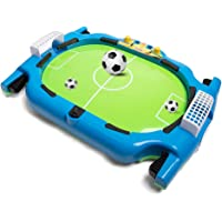 Soccer Game Board for Kids, EIDOLE Mini Tabletop Foosball for Parent-Child Interactive Game Training Football Toy for Child Perfect Indoor Family Game Gift for Child