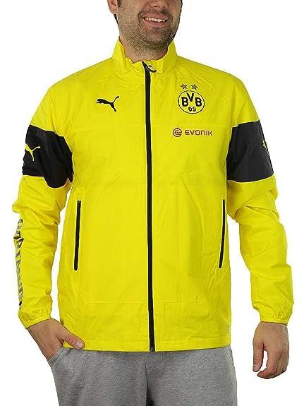 731cc07538acc Puma BVB Rain Top Jacket Kids 746789 01 Borussia Dortmund Evonik ...