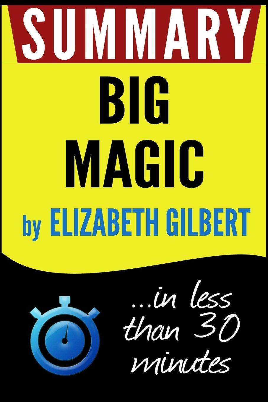 Summary Big Magic Creative Elizabeth product image