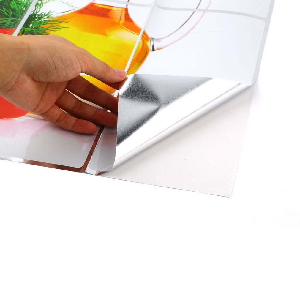 Fruit Muster Küche Wand Papier Folie Wandtattoo Hot Oil Proof ...