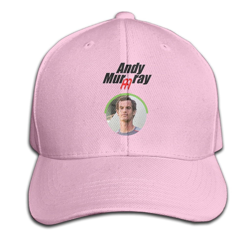 AGMPO Unisex Andy Murray Wimbledon Championships Peaked Baseball Cap Hats