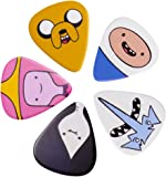 Adventure Time Finn Jake and Cast Guitar Plectrum Set Pick Set
