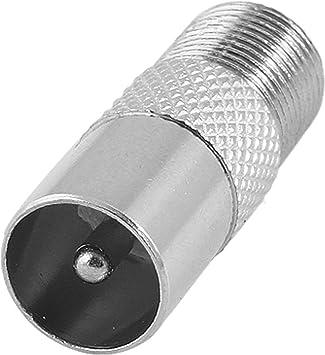RF Coax Antenna Plug F Female Screw F To RF male Adaptor Converter Connector