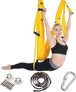 HSRG Columpio para Yoga – Hamaca de Yoga Ultra Fuerte ...
