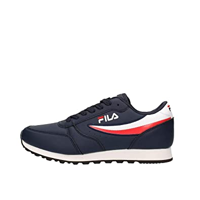 Fila Orbit Jogger Low 1010264422, Trainers Blue: Amazon.co ...