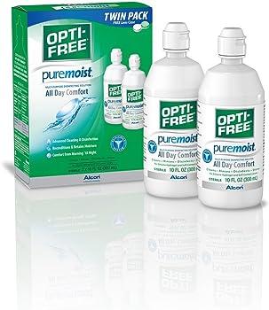 2-Pk. Opti-Free Puremoist Multi-Purpose Disinfecting Solution