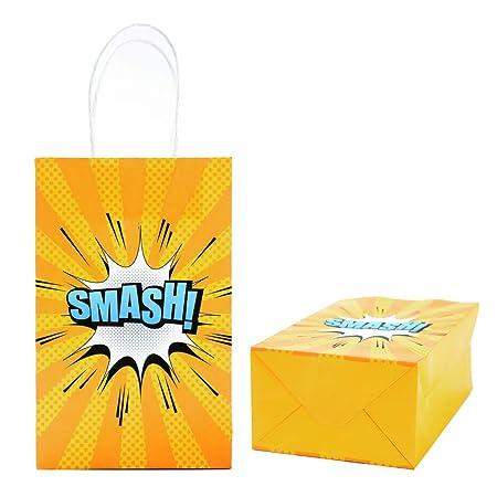 Amazon.com: Happy Storm - Bolsas para fiestas de cumpleaños ...