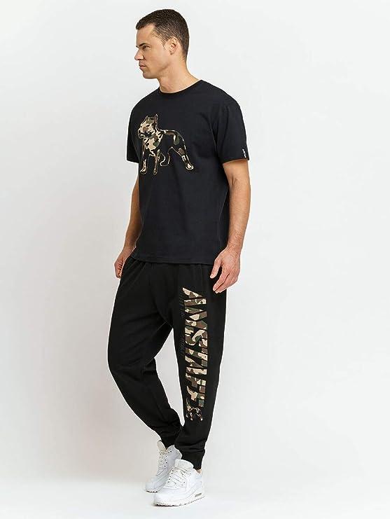 Amstaff Logo 2.0 - Pantalones de chándal Negro/Camuflaje. XXL ...