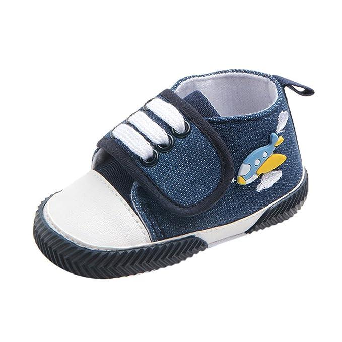 YanHoo Zapatos para niños Pato Impresión de Dibujos Animados con Cordones Antideslizante Zapatos Zapatilla Niño Lona Dibujos Animados Pato resbalón Zapatos ...