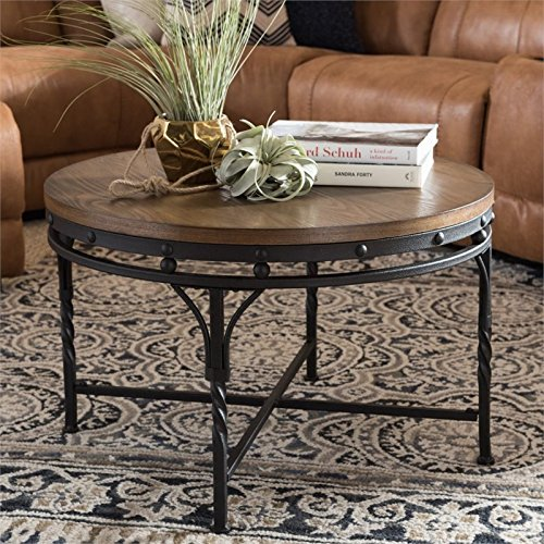 Baxton Studio Austin Coffee Table in Antique -