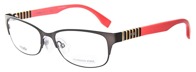 c1b33971bb6 Image Unavailable. Image not available for. Color  Fendi Rx Eyeglasses  Frames FF 0033 ...