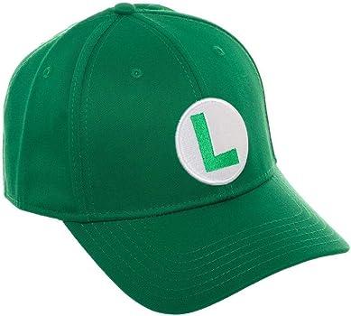 Super Mario Bros Luigi - Gorra de béisbol, Color Verde: Amazon.es ...