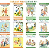 Books : Dick and Jane Level 1 & Level 2 Readers (Set of 12) Ages 3-6