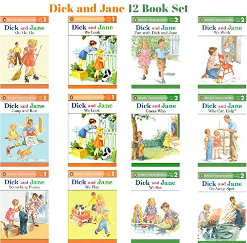 Dick and Jane Level 1 & Level 2 Readers (Set of 12)