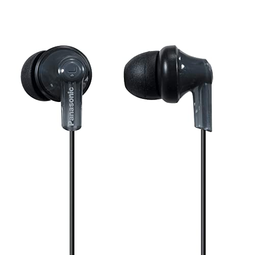 Panasonic ErgoFit In-Ear Earbud Headphones RP-HJE120-K