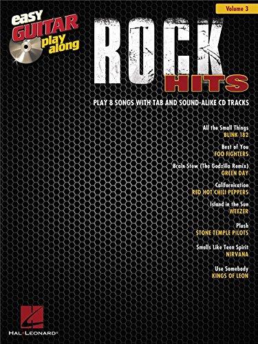 Easy Guitar Play-Along Volume 3: Rock Hits. Partituras, CD para ...